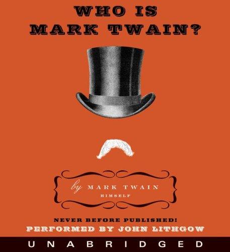 『Who Is Mark Twain?』のカバーアート