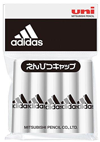 三菱鉛筆 adidas アディダス 鉛筆キャップ 5本