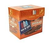 Van De Loo's Speculaas Spiced Dutch Cookie Box of 5 Cookies | aka Holland Speculoos Butter Cookies