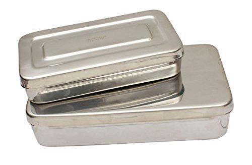 Chriurgische Instrumente Aufbewahrungsbehälter Medizinische Chirurgische Dental Nutzung Chriurgische Instrumente Box Zahn Instrumente Box Verschiedene Größen - 200mm x 100mm x 40mm