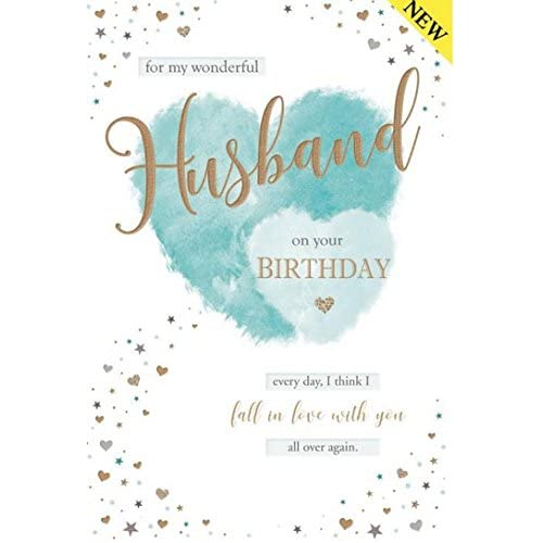 With Love To My Husband On Your Birthday Greeting Card A Lovely Verse