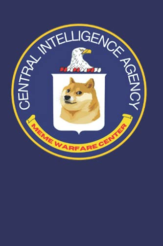 CIA Meme Warfare Center: Lined Blank Journal or Notebook for Military, Veterans, Students, Civilians, and Agency Workers