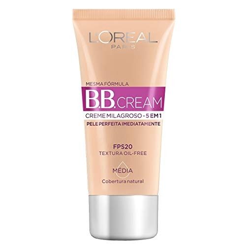 Loreal Bb Cream 5 Em 1 Com Fps 20 Media 30Ml