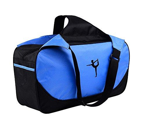 Multifonction Yoga Mat sac fourre-tout: Léger, durable, respirante Pouch [Bleu]