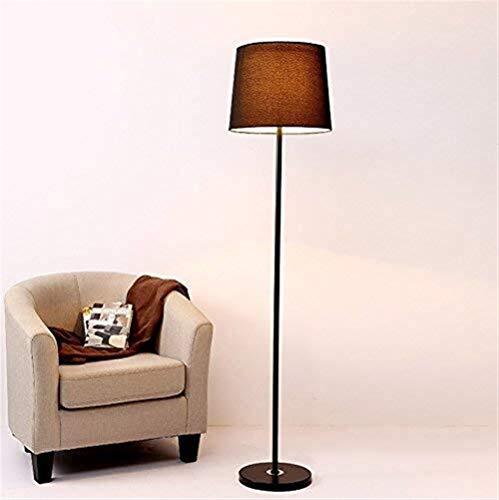CLJ-LJ Led metal creativo lámpara de pie, lámpara de cabecera del dormitorio de la decoración de la lámpara de la sala de iluminación moderno Eye-Cuidado Vertical luz del piso (Color : D)