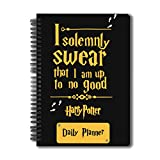 MC SID RAZZ Harry Potter I Solemnly Swear Daily Planner, Schedule Your Day
