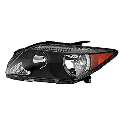 Epic Lighting OE Style Replacement Headlight Assembly Compatible with 2005-2010 tC [ SC2502101 8117021130 ] Left Driver Side LH