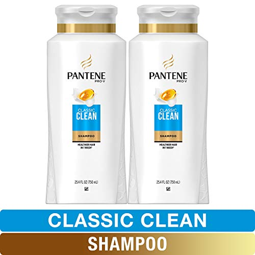 Pantene, Shampoo, Pro-V Classic Clean Twin Pack Now $8.83 (Was $13.99)