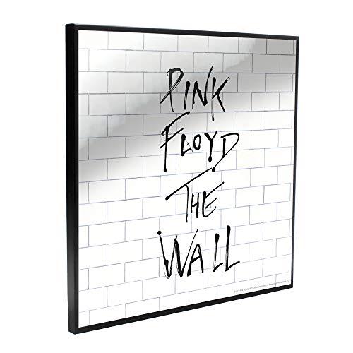Nemesis Now Pink FloydThe Wall - Cuadro de cristal transparente (32 cm), color blanco