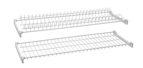 Escurreplatos metalplast acero plasticato cm.76x 37H.27[Metaplast]