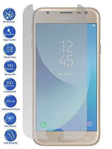 Todotumovil Protector de Pantalla Cristal Templado Vidrio 9H Premium para Samsung Galaxy J3 2017