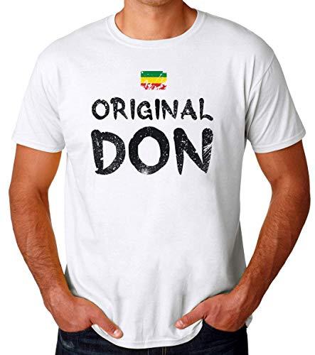 Brenos Design Original Don Trap Rasta Flag Camiseta para Hombres Small