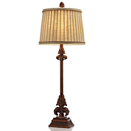 Bonne chose lampe de table Lampe de table européenne Lampe de table américaine de luxe rétro Pastoral Lampe de table décoration d'intérieur Lampe de chevet
