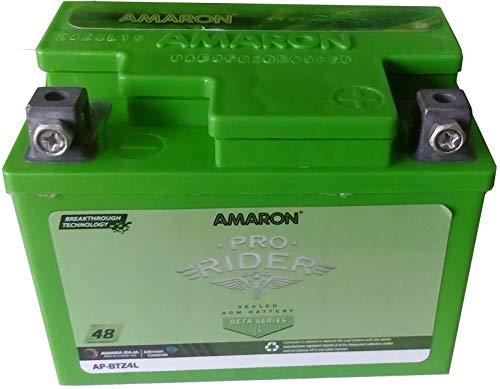 Amaron AP-BTZ4L Battery (Green,9 amp_hour)