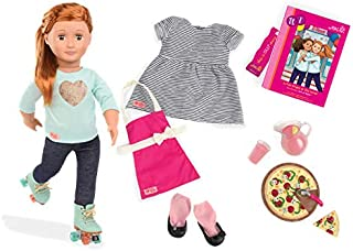 Our Generation Deluxe Noa Diner Doll Book