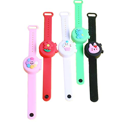 shuxuanltd Armband Mit Desinfektionsmittel Hygienearmband Silikon-Armbänder Armband Hand Sanitizer Dispenser Hand Sanitizer Dispenser Tragbare
