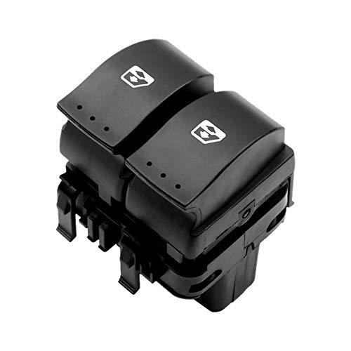 XGLAI El Interruptor 8200315034 for Renault Trafic II/Megane II/Laguna II Elevalunas (Color : Black)
