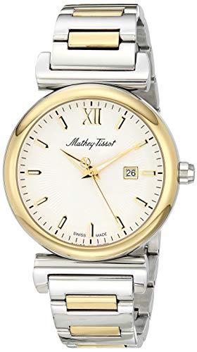 Mathey Tissot Men 's H410BYI Quartz Silver / Gold Watch