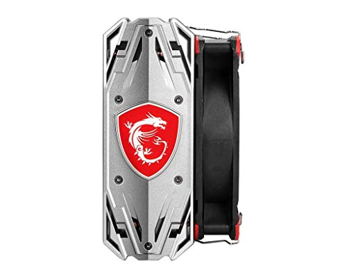 Core Frozr S MSI Torx Fan Aluminum Baseplate Four Direct Contact Heat Pipes Design for Intel and AMD CPU Gaming Cooling Fan