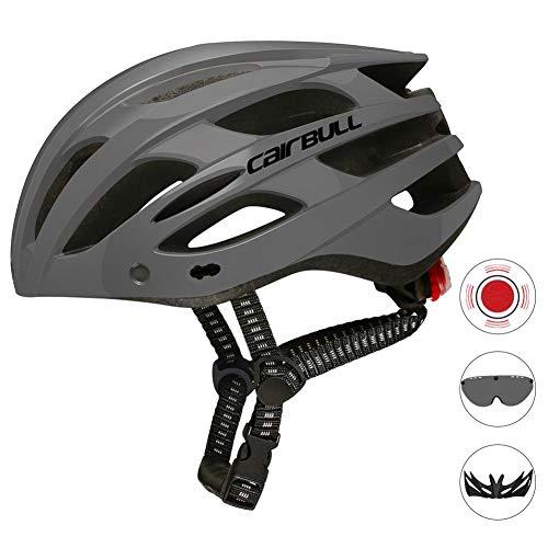 chivalrylist Cairbull Spark fietshelm - volwassenen fietshelm met achterlichtbril instellen