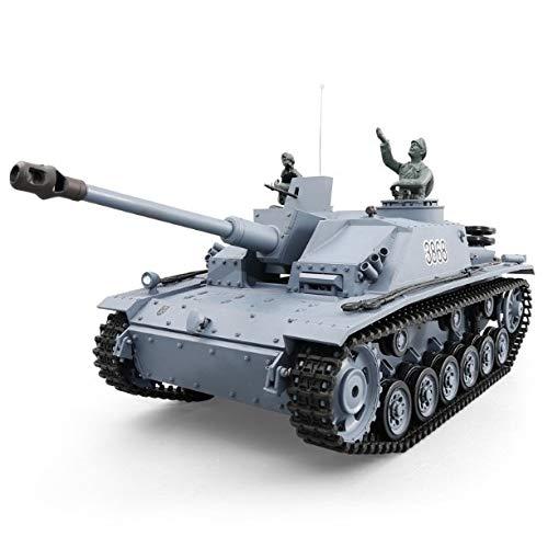 1/16 2.4G Hoge gesimuleerde Panzer Rc Tank met Afstandsbediening Volwassenen Kerst Stunt Rc Tank Afstandsbediening Autoradio Battle Armored Off Road Vehicle RC Toy Can Fired Bullets RC Tanks