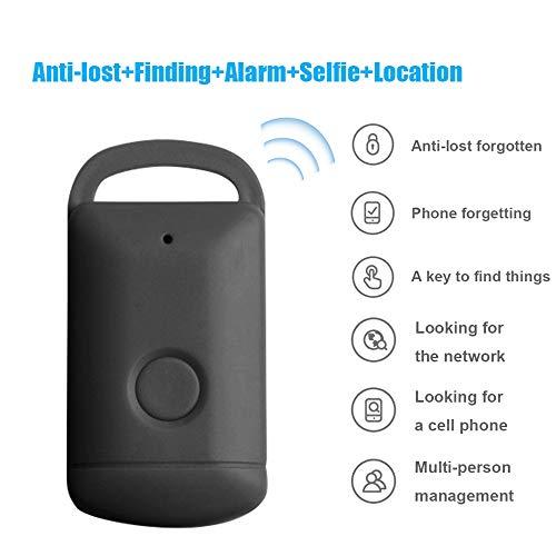 Kshzmoto Dispositivo inteligente anti-perdida BT Coche Motor Mascotas Niños Alarma Localizador en tiempo real Dispositivo de búsqueda