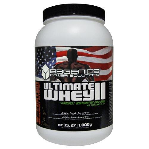 Ultimate Whey II,i nostri migliori proteine in polvere, 100% idrolizzati proteici del siero di latte, 1000g vaniglia