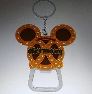 Disney Epcot Germany Pavilion Mickey Pretzel Keychain/bottle Opener
