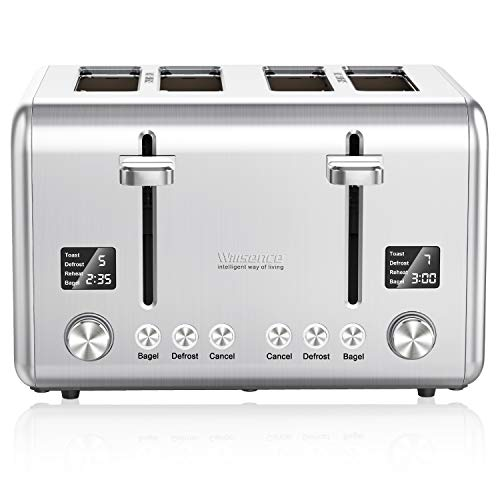 Willsence 4 Slot Wide Toaster...