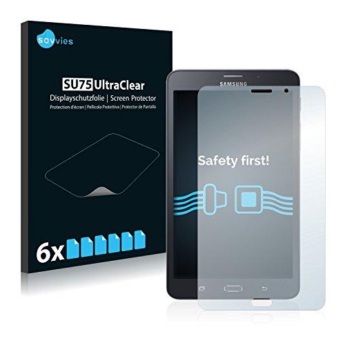 savvies 6-Pezzi Pellicola Protettiva Compatibile con Samsung Galaxy Tab A 6 7.0 4G Protezione Schermo Trasparente