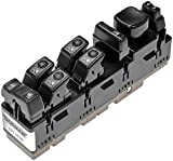 Dorman 901-955R Front Driver Side Remanufactured Power Window Switch for Select Models, Black