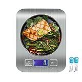 Food Scale for Weight Loss, Weight Watchers Food Scale, Balanza De Cocina, Bascula Digital De Cocina, Pesa para Alimentos, Kitchen Scales Digital Weight Grams and Ounces