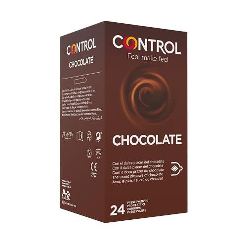 Control Chocolate Preservativi Aromatizzati al Cioccolato - 24 Profilattici