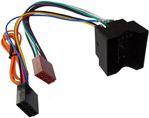 AERZETIX - C2059 - Adapter - Kabel Radioadapter - Radio Kabel - Stecker ISO - Kabel Verbindungs