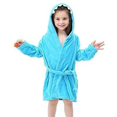 Happy childhood Infant Toddler Boys Girls Hooded Bathrobe Adorable Dinosaur Design Kids Favori
