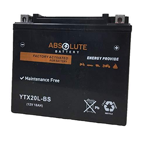 YTX20L-BS Replacement Battery For YUASA YUAM320BS ETX20L GTX20L-BS CTX20L-BS