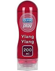 Durex Massage Olie en Glijmiddel 2-in-1 - Sensual met Ylang Ylang - waterbasis - 200 ml