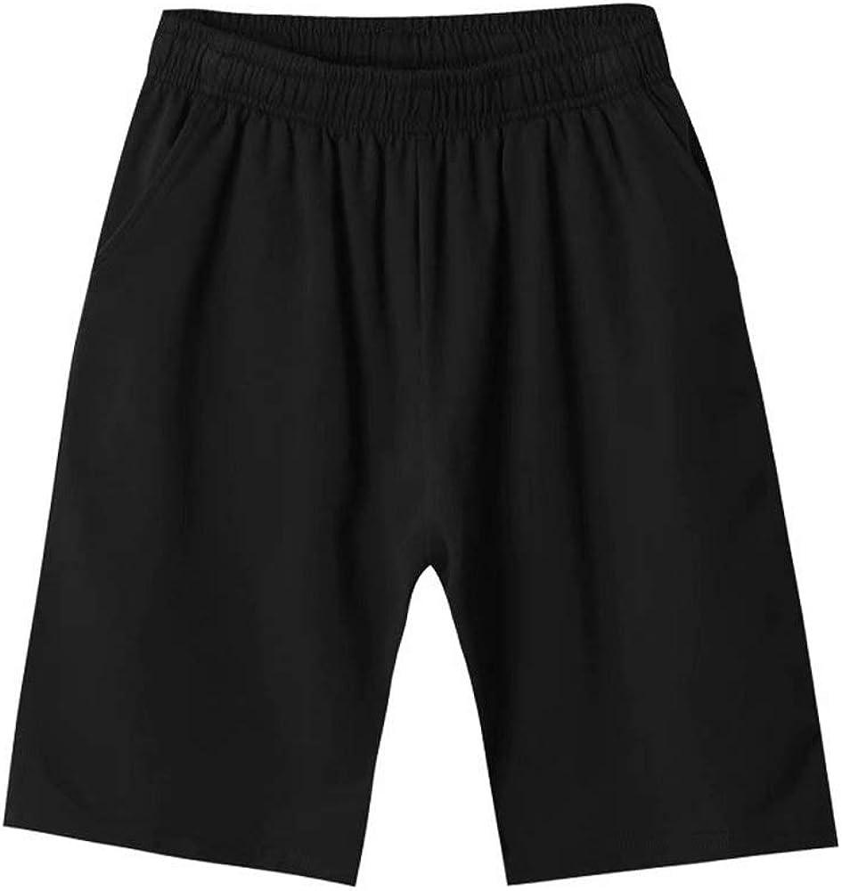 Pavel Korchagin Boys' School Uniform Sport Casual Pull On 95% Cotton Short with Pockets Navy/Black/White