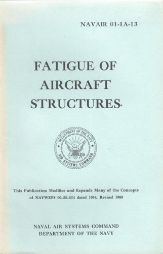Fatigue of aircraft structures,