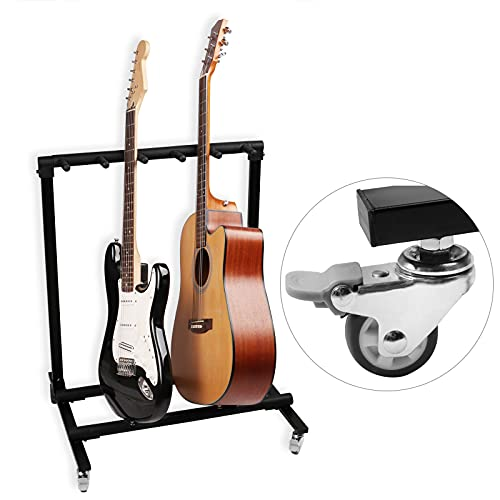 Mr. Power Guitar Rolling Stand