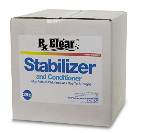 Rx Clear Cyanuric Acid Pool Stabilizer and Conditioner – 25 lbs.