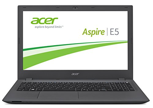 Acer Aspire E 15 (E5-573-516T) 39,6 cm (15,6 Zoll HD) Laptop (Intel Core i5-4210U, 8GB RAM, 1000GB HDD, Intel HD Graphics 4400, Win 10 Home) schwarz