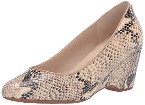Cole Haan womens Wedge Pump, Roccia Snake Printed Leather, 7.5 US
