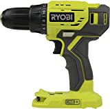 RYOBI 18-Volt Cordless 1/2 in. Drill/Driver - (Bare Tool, P215) (Renewed)