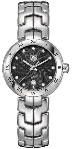 TAG Heuer Damen Analog Quarz Uhr mit Edelstahl Armband WAT1410.BA0954