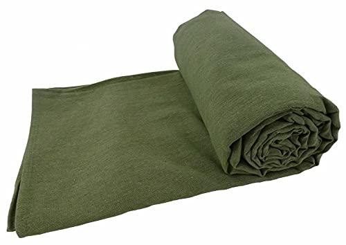 Casatessile Kiara unito Tagesdecke & Einrichtungstuch Maxi 260 X 300 cm - Verde SALVIA