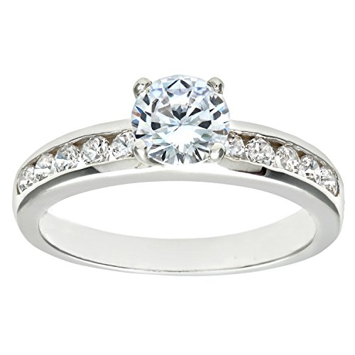 Citerna Damen-Ring silber 1 Zirkonia Stein Gr. 48 (15.3) DPR8208(I)
