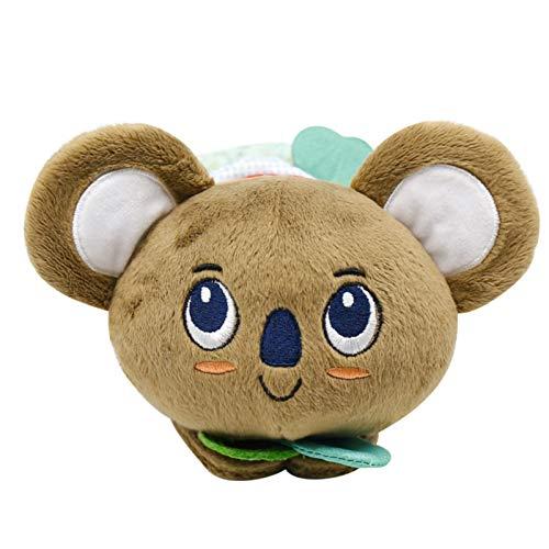 YOUPOU Creative Cute Animal Doll Mordedor Caja de música Pull Bell Hamaca Bell Tres Estilos (Muñeca Caja de música de león, muñeca Koala, caja de música de mono muñeca)