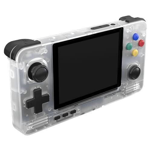 Retroid Pocket 2 console di gioco retrò per bambini con schermo IPS da 3,5 pollici e sistema operativo Android 6 [RP2-SNOW]