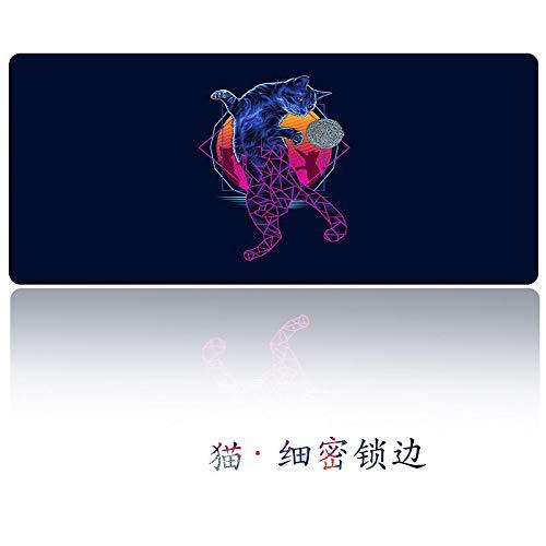 Kartenmausunterlage große wasserdichte Mausunterlagenkarte 04 300 * 700 * 2mm